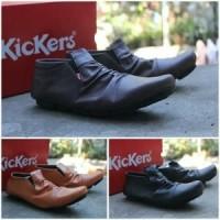 Fashion Sepatu Pria Kickers Kerut Wringkle murah