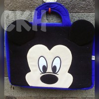 tas laptop mickey mouse 14inch