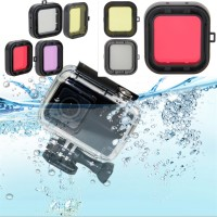 Underwater Dive Lens Filter for Xiaomi Yi Action Camera