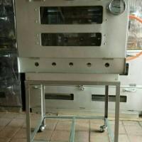 oven gas murah galvaloum 40x60 via OJOL