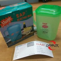 SAP Type 9755 Mug Teko Listrik Model Persegi Panjang