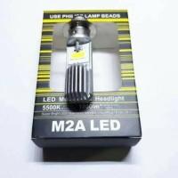 LAMPU MOTOR LED H6 CHIPS PHILIP HI LOW(PUTIH)stok terbatas