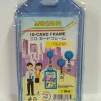 Montana Casing Id Card Holder 1 Muka Lentur - Bening (Pak isi 5 pcs)