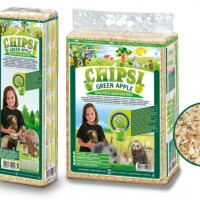 CHIPSI GREEN APPLE Wood chip litter 1 Kg