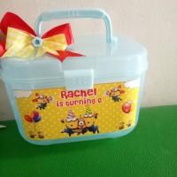 souvenir hampers manyue box custom ultah one month aqiqah newborn