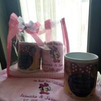 souvenir hampers manyue tas mika handuk bordir mug custom one month