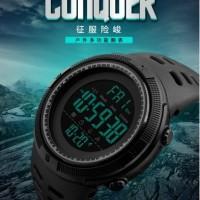 Jam tangan skemei conQuer casio, G shock, water resistant 5 Atm