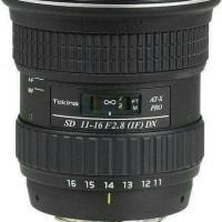 LENSA TOKINA FOR SONY 11-16MM F2.8 DX