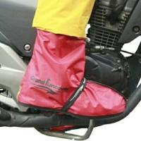 Cover Shoes Grand Funcover Warna Merah | Jas Hujan Sepatu Premium