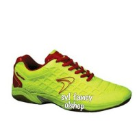 sepatu flypower dieng badminton shoes yellow / kuning Original