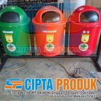 tempat sampah organik non organi dan B3