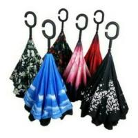 Kazbrella payung terbalik gagang c unik