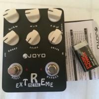 Efek gitar Joyo extreme metal jf -17 original