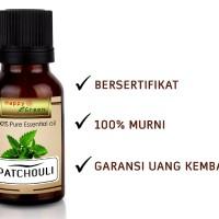 Happy Green Patchouli Essential Oil (30 ml)  Minyak Atsiri Nilam Murni