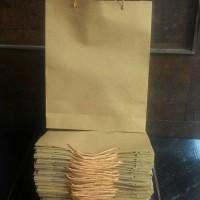 Paper Bag | Shopping Bag | Tas Kertas Polos Ukuran 18 x 5 x 22