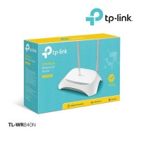 TP-Link Wi-Fi Router TL-WR840N 300MBps Wireless Router-PUTIH