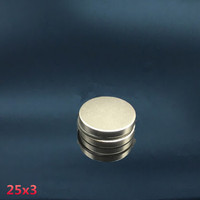 MAGNET NEODYMIUM SUPER KUAT 25x3 mm COIN