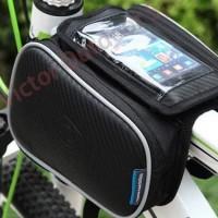 Tas Sepeda Roswheel Tas Barang Bike Bag Waterproof + Smartphone Case