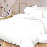 Sprei Polos Putih Uk 180x200x40 cm