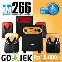 Speaker Aktif Bluetooth DAZUMBA DW266 with Bass Kontrol