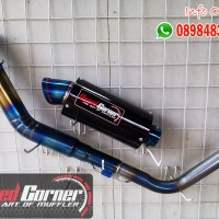 knalpot racing suzuki gsx r150 s150 satria150 speed corner ar bluemoon