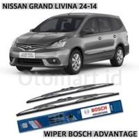 WIPER BOSCH ADVANTAGE - NISSAN GRAND LIVINA 24-14 CLASSIC