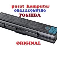 Baterai original laptop toshiba M200 A200 L300 PA3534U PA3534U-1BRS