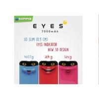 Hippo Original Power Bank Eyes 7000 mAh Cute Special Edition