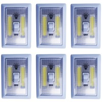 Lampu Tempel LED Kotak Stick Touch Cob LED 3W - Putih per pcs