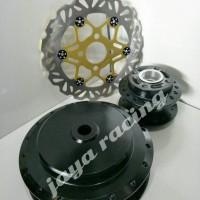 tromol Hitam black spin - Skydriv - Skywave - plus piringan cakrm depn