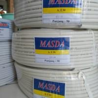 Kabel Listrik NYM 2x1,5mm (kawat/engkel) panjang 50