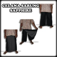 Sarung Celana Hitam Polos Sapphire