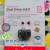 Sandisk OTG Original 32gb Ori Flashdisk Dual Usb On The Go 32 Gb m3.0