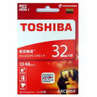 Toshiba Microsd 32gb class 10 48mbps garansi resmi