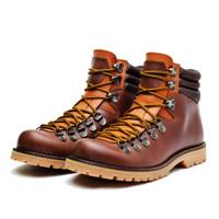 Sepatu Gunung boots pria Jumbo Big Size ukuran BESAR -kulit WATERPROOF - Cokelat, 44