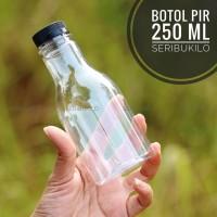 Botol Plastik 250 ml PIR + Botol Plastik 250 ml - Hitam