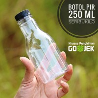 Botol Plastik 250 ml PIR + Botol Pet Plastik 250 ml