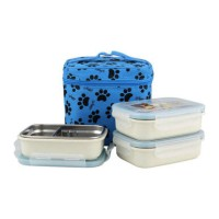 GiG Baby Rectangular Lunch Box 320ml Blue