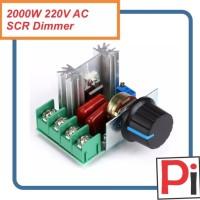 2000W AC 220V SCR Regulator Dimmer Lampu / Motor Speed Controller