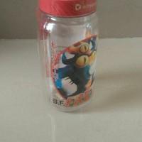 Botol minum botol air transparan anak karakter Hero Technoplast
