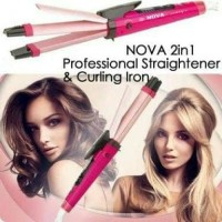 Catokan Nova 2in1 / Nova Professional 2in1 / Catok & Curly Nova Big