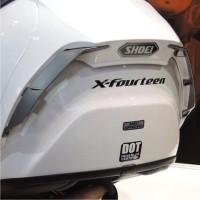 Sticker Cutting / Stiker Helm Visor Shoei