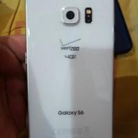 Samsung S6 Flat 64GB Putih mulus bgt lengkap Ori murah no minus lancar