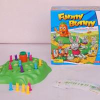 Funny Bunny, mainan ular tangga versi baru, mainan ular tangga 3D