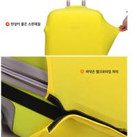 pelindung koper, elastic luggage cover,sarung bagasi warna warni (L)