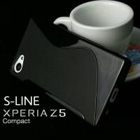 Soft Case Silikon TPU S-Line Sony Xperia Z5 Compact Mini