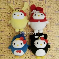 Boneka Hello Kitty Bubbly World Mcd 4pcs