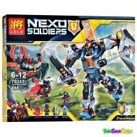 Brick lele 79311 Nexo Soldier The Black Knight Mech