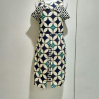 Dress Model Sabrina - Dress Rok Terusan Batik Modern