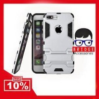 Bridgeacc! Case Iphone 7 Plus 5.5 inch Ironman ( Armor Murah